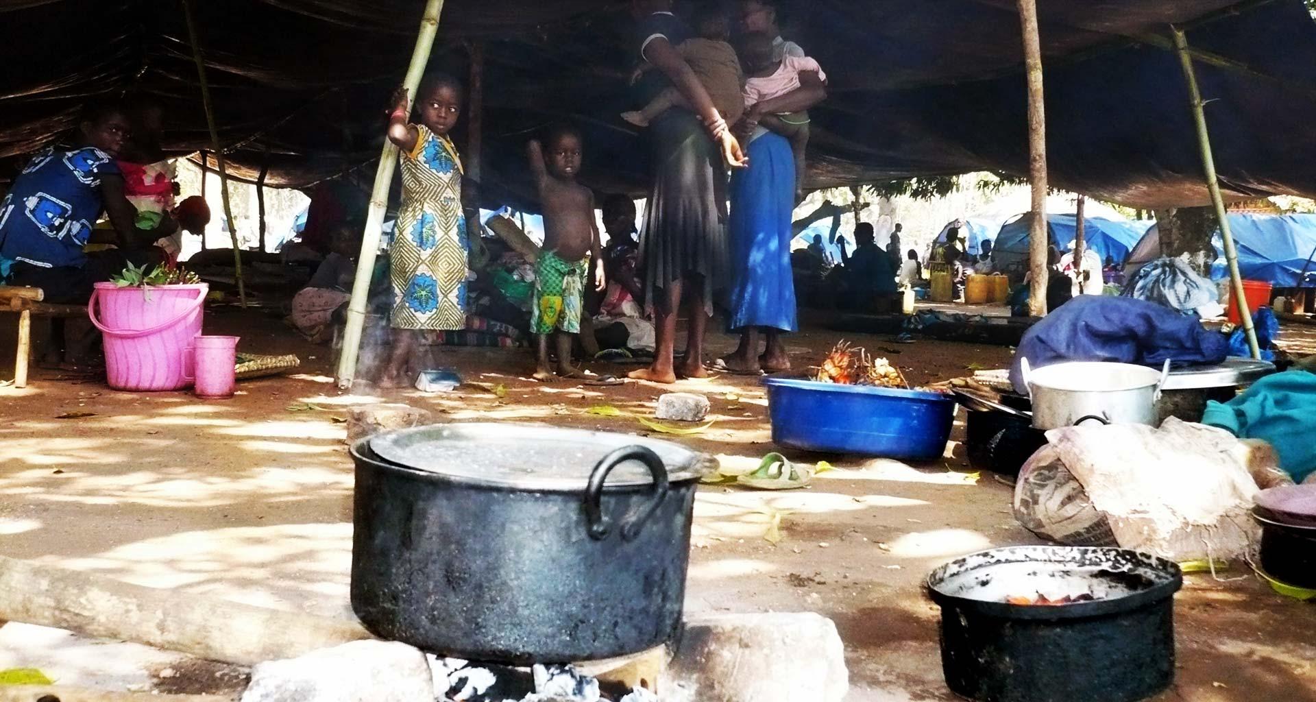 Refugiados do Sudão do Sul lutam para sobreviver