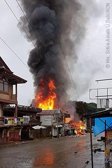 Marawi é atacada