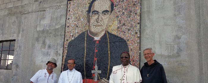 Imagem do Beato Óscar Romero em capela