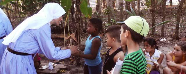 Irmãs Missionárias de Jesus Verbo e Vítima na diocese de Santa Clara, Cuba