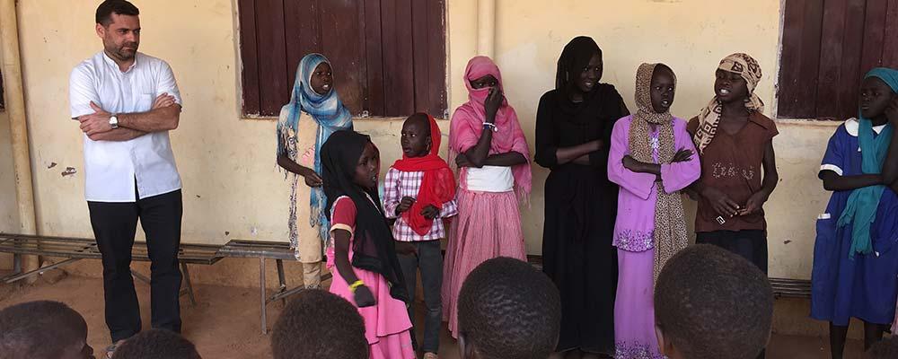 Escola católica sudanesa