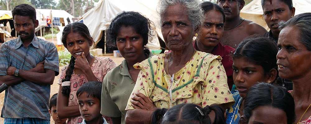 Deslocados internos do Sri Lanka