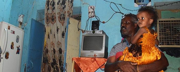 Isaías, refugiado eritreu no Sudão