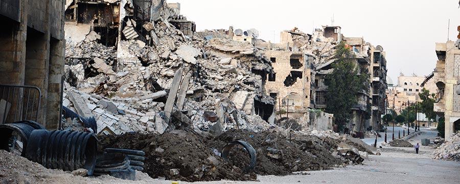 Ruinas de Alepo