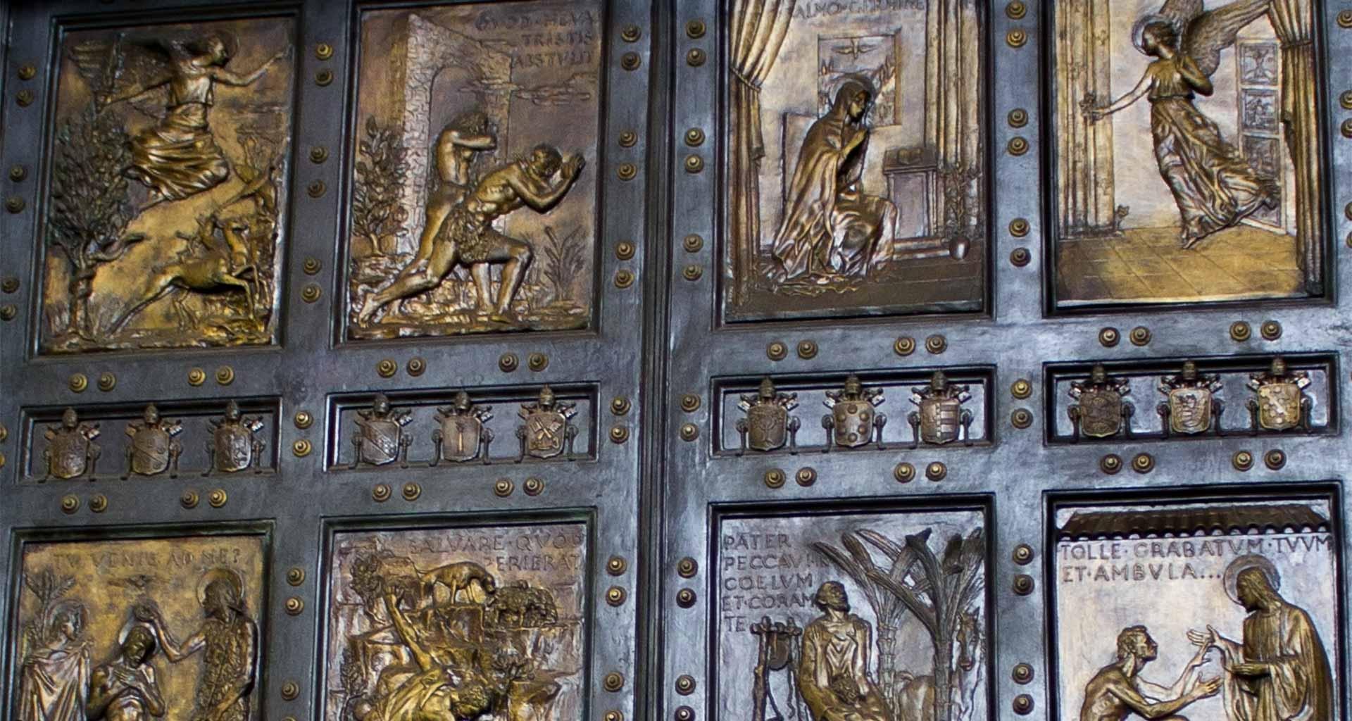 Porta Santa, Basílica de São Pedro, Vaticano