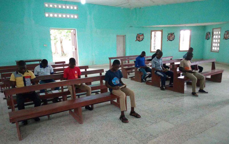 Seminário em Serra Leoa, diocese de Makeni