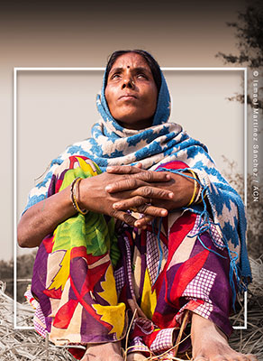Asha, dalit indiana
