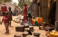 Campo de refugiados na Nigéria