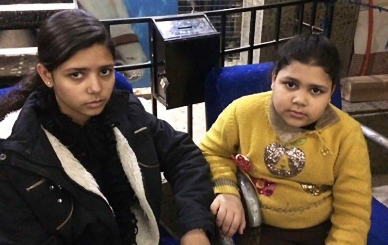 Meninas cristãs órfãs, vítimas de ataque no Cairo