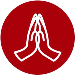 Ícone oração