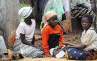 Crianças em Marera, Moçambique