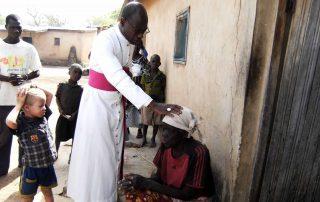 Cristãos e muçulmanos na Costa do Marfim.