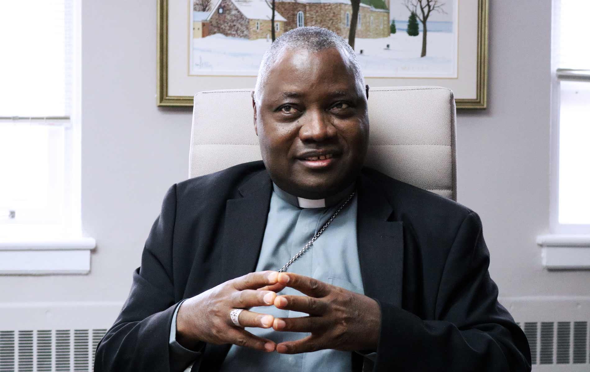 Arcebispo Ignatius Ayau Kaigama