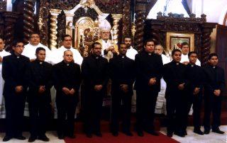 Formação de 19 seminaristas no seminário diocesano Cristo Salvador