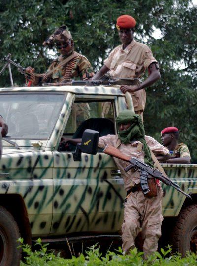 Rebeldes armados na República Centro Africana