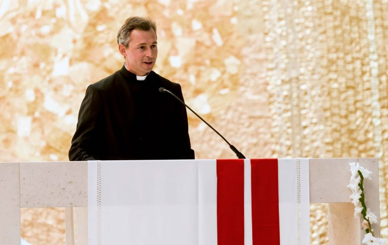 Padre Martin Barta (Assistente eclesiástico da ACN internacional)