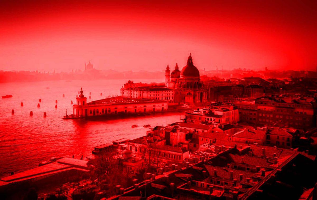 Campanha Veneza vermelha em 20 de novembro de 2018