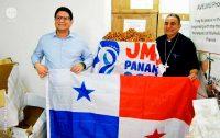 Arcebispo do Panamá faz uma visita oficial à Caritas Jerusalém