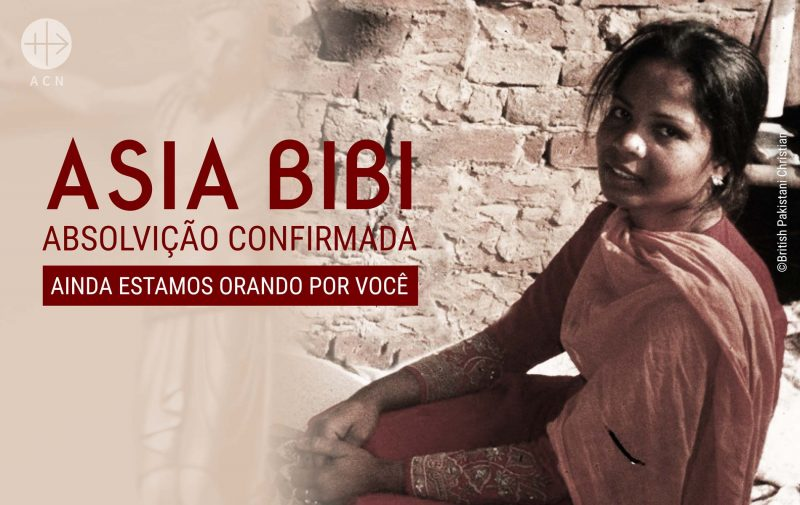 Asia Bibi foi condenada à morte por blasfêmia
