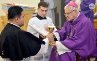 Seminário sacerdotal em Karaganda durante o ano letivo