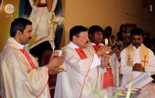 Sacerdotes diocesanos que trabalham na Diocese de Multan