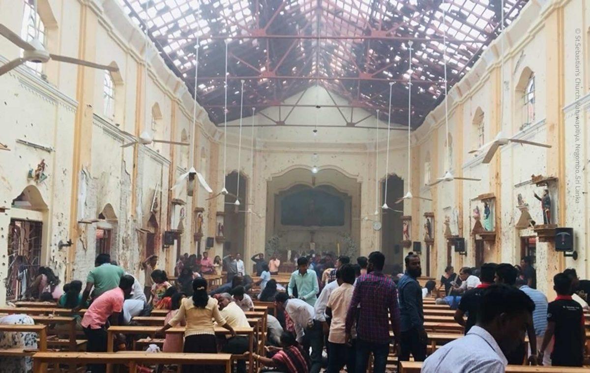 Atentados contra Igrejas no Sri Lanka