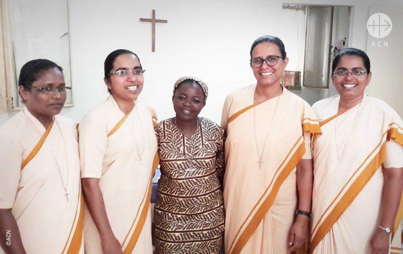 Ajuda existencial as irmãs que trabalham na diocese da Mauritânia