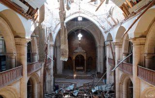 ACN - Notícias - A Catedral de Aleppo, destruída na guerra síria, nasce das cinzas